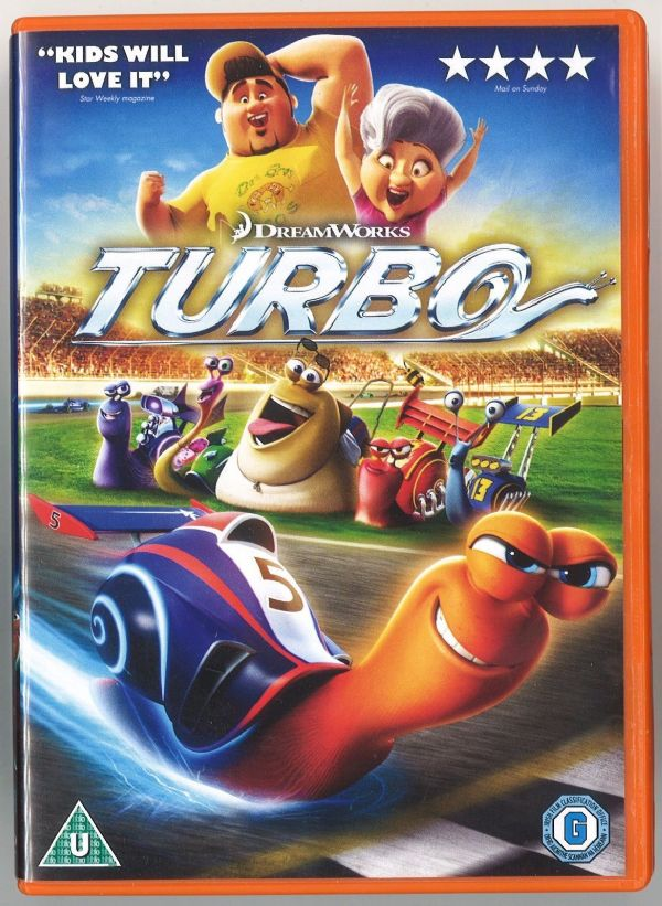 Turbo on ( DVD 2014) USED